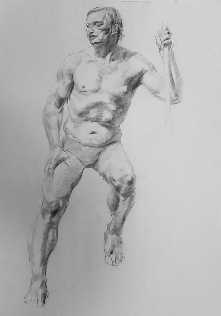 素描作品-广州玛雅画室|高考美术培训|漫画插画培训