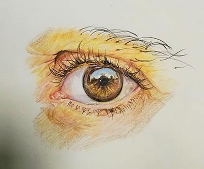 手绘动漫眼睛教程-教你画动漫人物的眼睛-手绘动漫哭