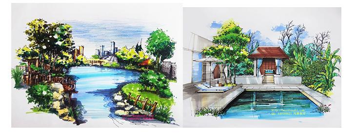 环艺手绘专修班-广州玛雅美术教育|玛雅艺术教育|玛雅