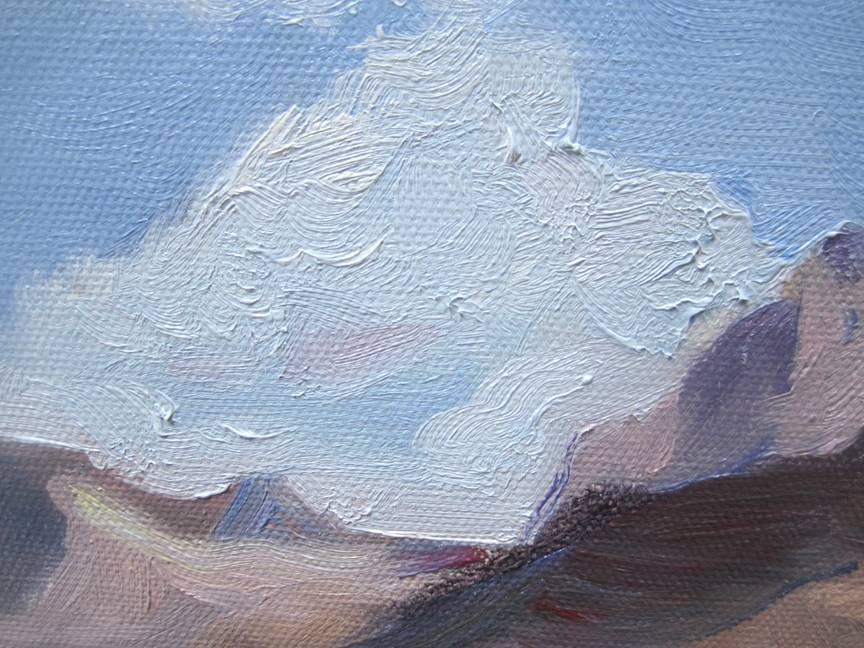 通过这个简单的油画风景教程,使得很多零基础